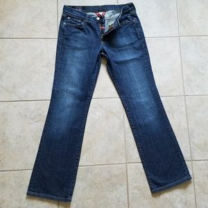 Lucky Brand Jean Dungarees by Gene Montesano Great